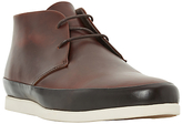 Bertie Curtis Smart Formal Leather Chukka Boots, Tan