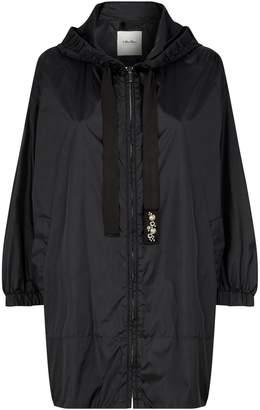 Max Mara Hooded Parka Coat