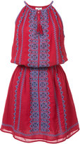 Joie patterned mini dress - women - Cotton - M