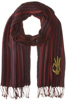 Scotch & Soda College Scarf with Badge