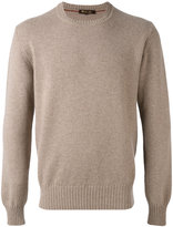 Loro Piana crew neck jumper - men - Goat Skin/Cashmere/Virgin Wool - 48