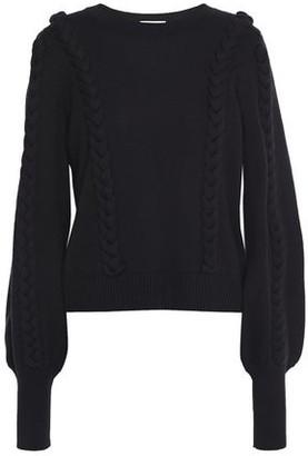 Joie Chasa Braid-trimmed Wool-blend Sweater