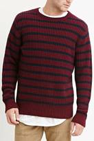 Forever 21 Striped Cotton-Blend Sweater