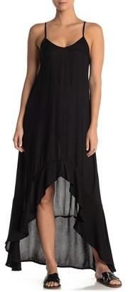BOHO ME Mineral High/Low Cover-Up Dress