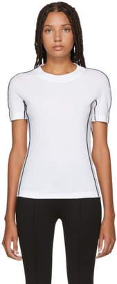 Rosetta Getty White Jersey Reversed T-Shirt