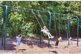 Kidstuff Playsystems, Inc. 4-Place Arched Swing Set