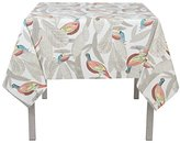 Now Designs 60 by 60 inch Cotton Tablecloth, Pheasantwood Print