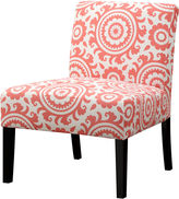 Asstd National Brand Jackson Medallion Slipper Accent Chair
