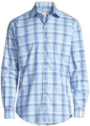 Peter Millar Regular-Fit Milo Plaid Shirt