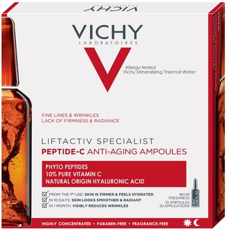 Vichy LiftActiv Peptide-C Anti-Aging Ampoules with Vitamin C, Hyaluronic Acid and Peptides