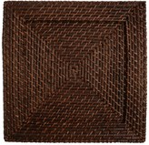 Jay Import Brown Rattan Square Placemat