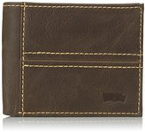 Levi's Men's Traveler Wallet with Stitch Detail