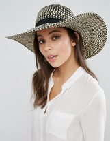 Whistles Interest Weace Wide Brim Sunhat
