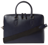 Burberry The Barrow London Leather Briefcase