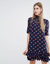 Baum und Pferdgarten Alba Drop Waist Dress in Minibox Print