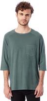 Alternative Brushed & Garment Dyed Pocket Baseball T-Shirt