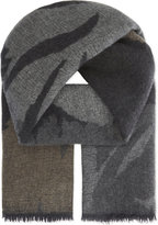 Johnstons Woodland Shadows Cashmere Scarf