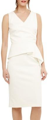 Phase Eight Saskia Scuba Dress, Cream