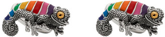 Paul Smith Silver Chameleon Cufflinks
