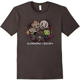 Marvel Kawaii Guardians of the Galaxy Cute Graphic T-Shirt