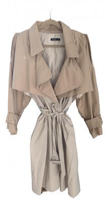 Nasty Gal Beige Cotton Coats