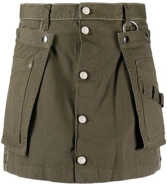 Diesel A-line utility belt skirt