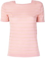 Cashmere In Love cashmere Carly lurex knitted top