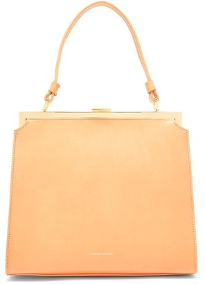 Mansur Gavriel Elegant Leather Handbag - Tan