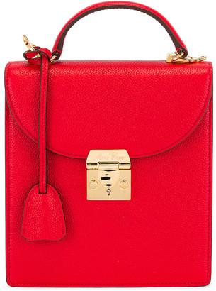 Mark Cross Uptown Bag in Red | FWRD