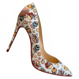 Christian Louboutin So Kate Multicolour Leather Heels