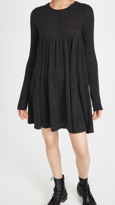 Autumn Cashmere Tiered Baby Doll Mini Dress