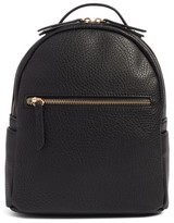 Mali + Lili Faux Leather Backpack - Black