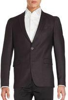 Sand Woolen Long Sleeve Jacket