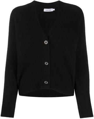 Calvin Klein V-neck buttoned up cardigan