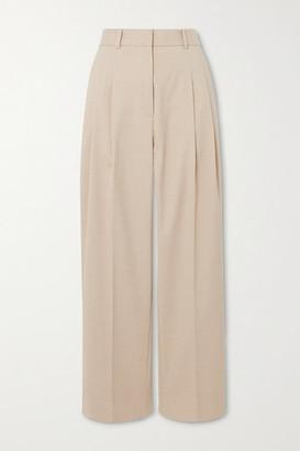 By Malene Birger Louisamay Woven Straight-leg Pants - Beige
