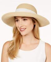 Nine West Bow Scarf Floppy Sun Hat