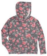 Splendid Floral Print Hoodie (Big Girls)
