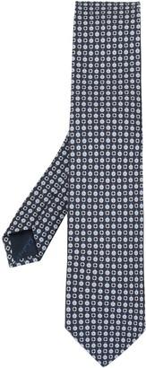 Salvatore Ferragamo Geometric Print Tie