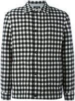 A.P.C. checked bomber jacket - men - Wool/Polyamide/Viscose/Polyester - M
