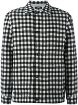 A.P.C. checked bomber jacket