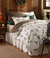 L.L. Bean Ultrasoft Comfort Flannel Sham, Evergreen