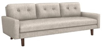 """Interlude Aventura 93"""" W Square Arm Sofa Upholstery Color: Bungalow"""