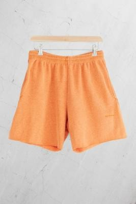 Iets Frans... iets frans. Overdyed Orange Men's Jogger Shorts - Orange S at Urban Outfitters