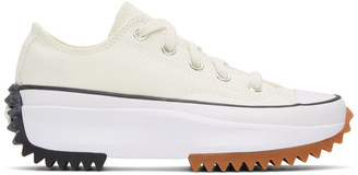 Converse White Run Star Hike Low Sneakers