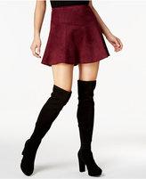 BB Dakota Hal Faux-Suede Skirt