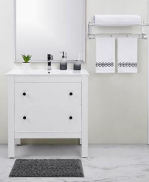 Seventh Studio Grey Ombre 5-Piece Bath Set Bedding