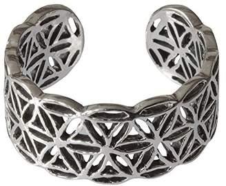 Saraswati Unisex Silver Statement Ring - AS716