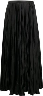 Jil Sander Long-Length Pleat Skirt