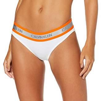 Calvin Klein Women's Bikini Thong,XS