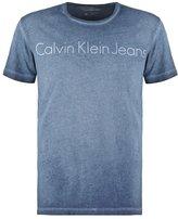 Calvin Klein Jeans Regular Fit Print Tshirt Blue